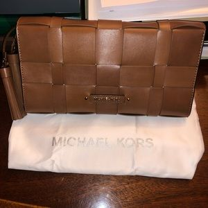 Small rectangular Michael Kors clutch/crossbody